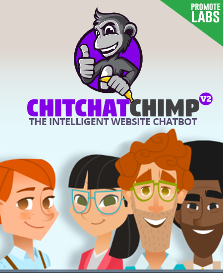 Intelligent website chatbot - Chit Chat Chimp