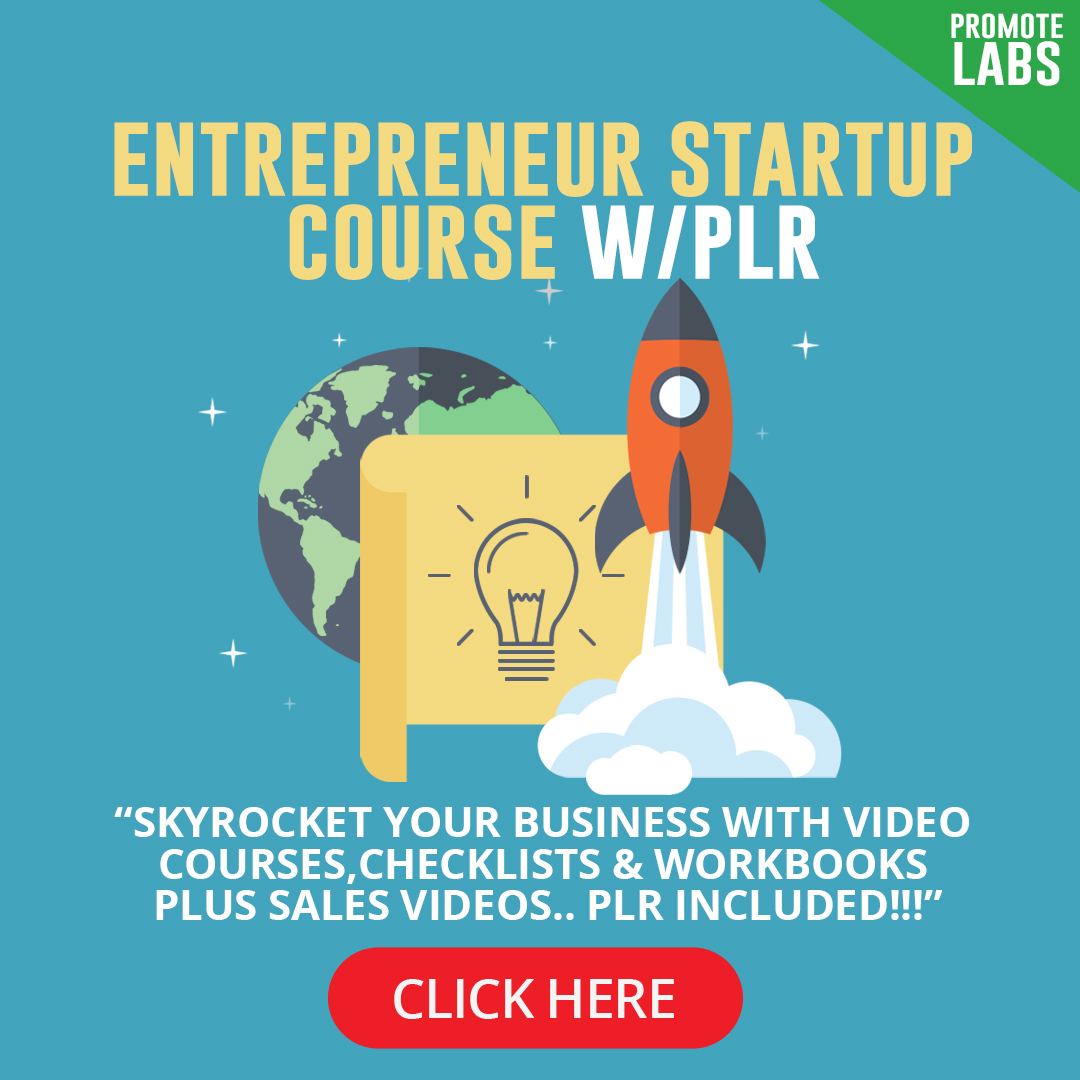 Entrepreneur Startup Course with Private Label Rights