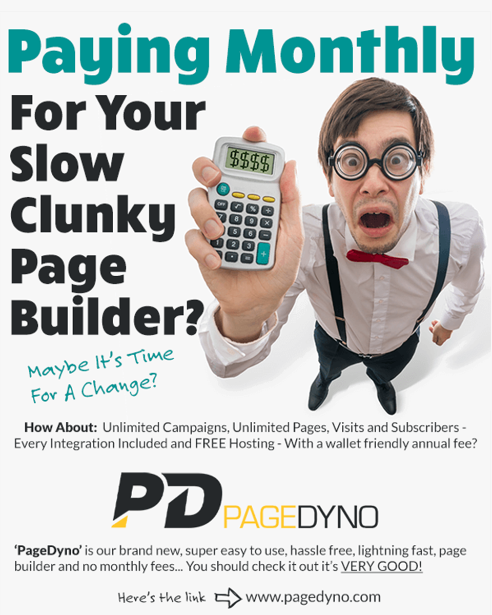 PageDyno Best Landing Page Creator